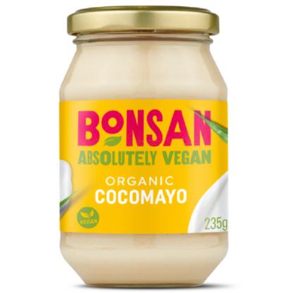 Maioneza vegana cu cocos BIO 235g Bonsan