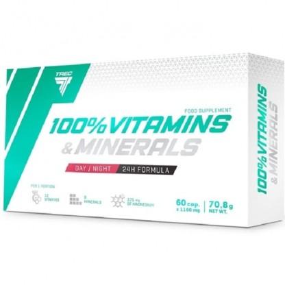 Vitamine si minerale 100% 60 capsule Trec