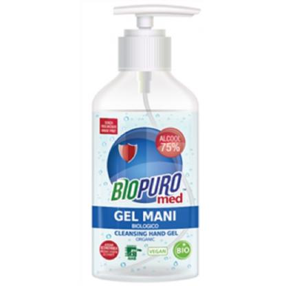 Gel igienizant pentru maini BIO cu 75% alcool 250ml Biopuro