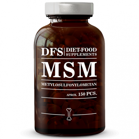 MSM 150 tablete x 750mg, 112.5g Diet Food