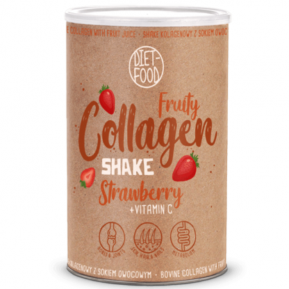 Fruity Colagen Shake Căpșuni 300g Diet Food