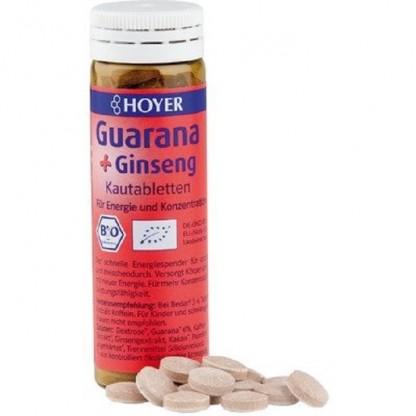 Dropsuri cu guarana si ginseng BIO 60tb Hoyer