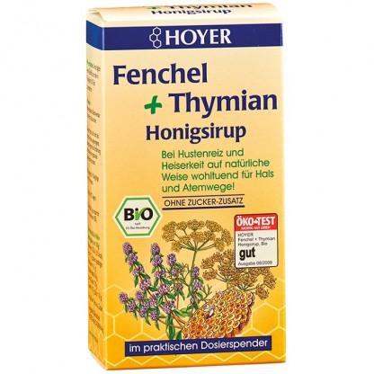 Sirop de miere cu fenicul si cimbru BIO 250g Hoyer