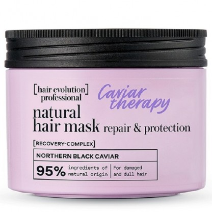Masca par reparatoare profesionala Caviar Therapy 150ml Hair Evolution Natura Siberica