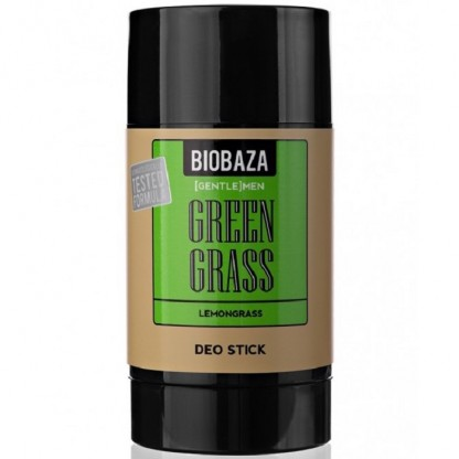 Deodorant stick natural Green Grass cu lemongrass 50g Biobaza