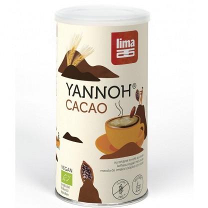 Cafea din cereale Yannoh Instant cu cacao BIO 175g Lima Food