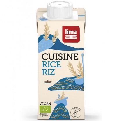 Crema de orez BIO inlocuitor pentru smantana 200ml Lima
