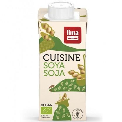 Crema de soia BIO inlocuitor pentru smantana 200ml Lima