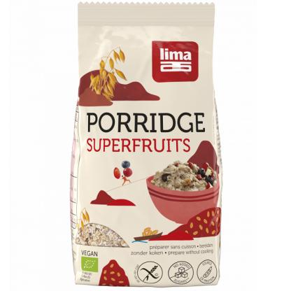 Porridge Express cu superfructe fara gluten BIO 350g Lima Food