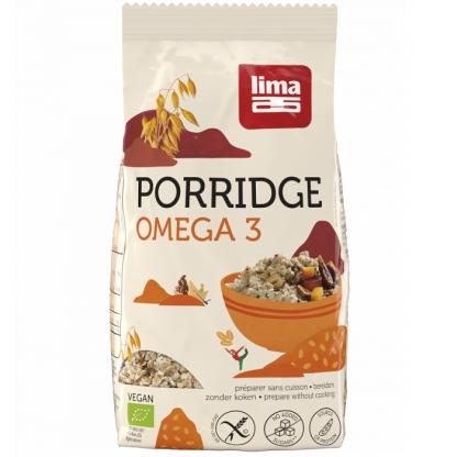 Porridge Express Omega 3 fara gluten BIO 350g Lima Food