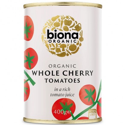 Rosii cherry la conserva BIO 400g Biona