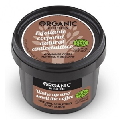 Exfoliant corporal anticelulitic Wake Up And Smell The Coffee 100g Organic Kitchen