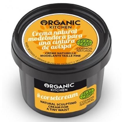 Crema modelatoare pentru talie subtire 100g Organic Kitchen