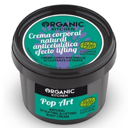 Crema corp lifting anticelulitica Pop Art 100g Organic Kitchen