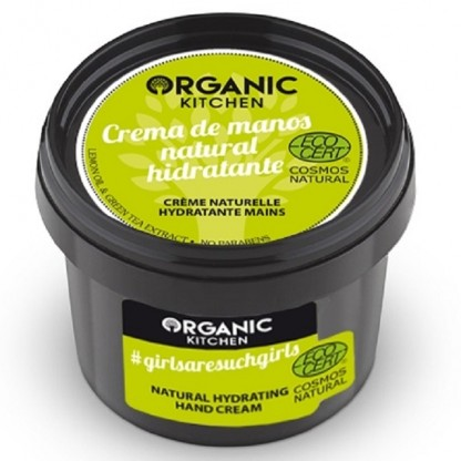 Crema de maini cu lamaie si ceai verde 100g Organic Kitchen