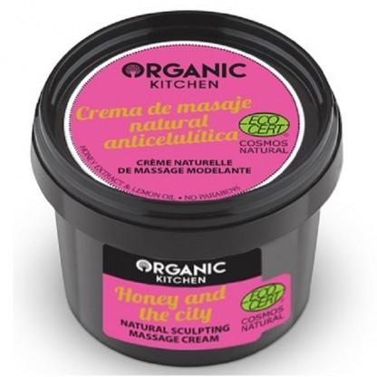 Crema modelatoare de masaj pt corp 100g Organic Kitchen