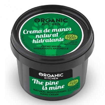 Crema de maini hidratanta cu pin si ienupar The Pine Is Mine 100g Organic Kitchen