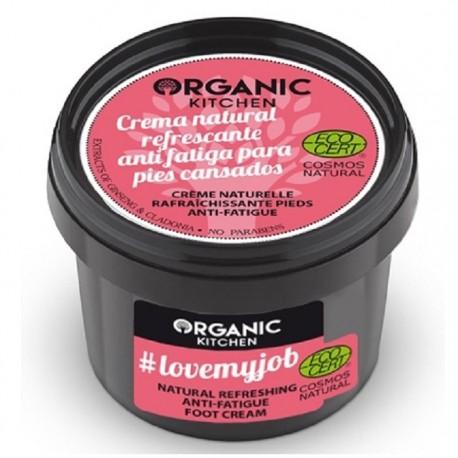 Crema revigoranta pentru picioare obosite 100ml Organic Kitchen