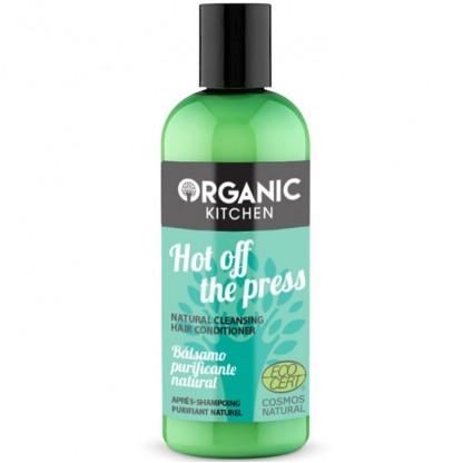 Balsam de par purificator cu menta Hot Off The Press 260ml Organic Kitchen