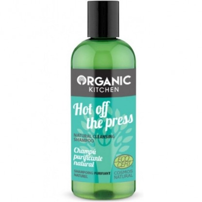 Sampon purificator cu menta Hot Off The Press 260ml Organic Kitchen