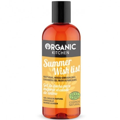 Gel de dus buna-dispozitie Summer Wish List 260ml Organic Kitchen