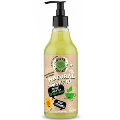 Gel de dus natural 100% Vitamins Skin Supergood 500ml Planeta Organica