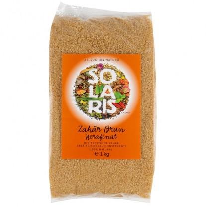 Zahar brun nerafinat 1 Kg Solaris Plant
