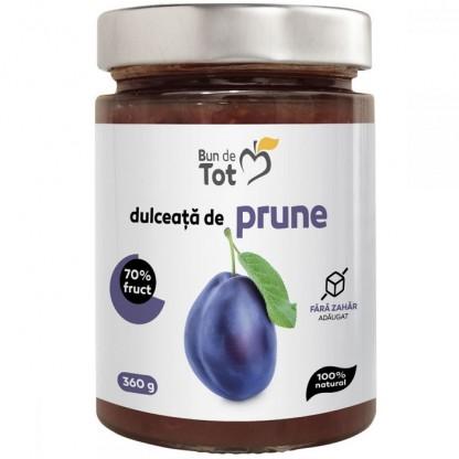 Bun de tot - Dulceata de prune fara zahar 360g Dacia Plant