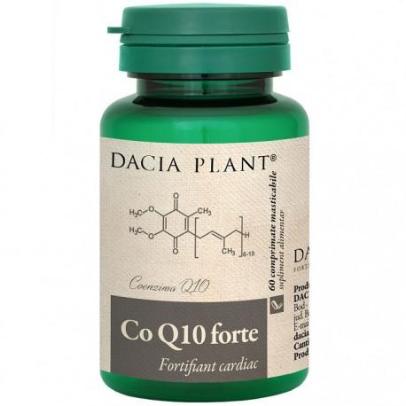 Coenzima Q10 Forte 60 capsule masticabile Dacia Plant
