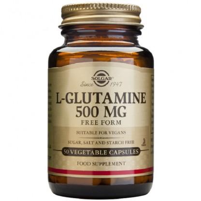 L-Glutamine 500mg 60cps vegetale Solgar