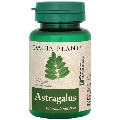 Astragalus (imunitate maxima) 60 comprimate Dacia Plant