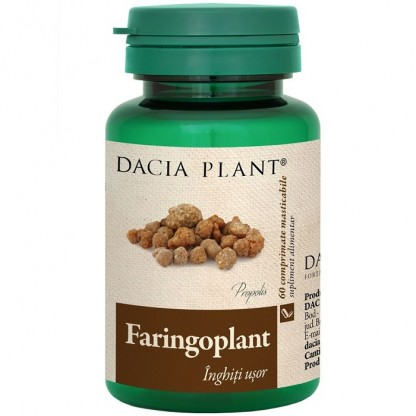 Faringoplant (Echinaceea, propolis, catina) 60 capsule Dacia Plant