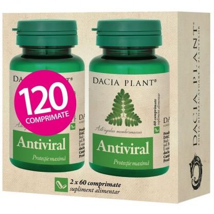 Pachet Antiviral (imunostimulator) 60 comprimate (1+1 cadou) Dacia Plant