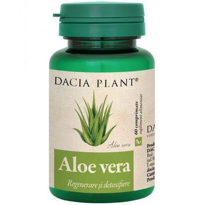 Aloe vera (regenerare si detoxifiere) 60 comprimate Dacia Plant