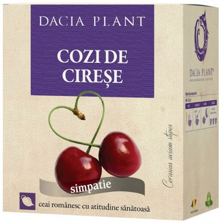 Ceai de cozi de cirese 50g Dacia Plant