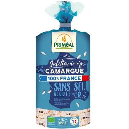 Rondele de orez de Camargue fara sare BIO 130g Primeal