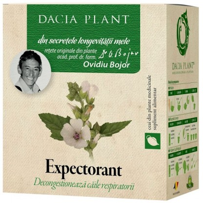 Ceai expectorant 50g Dacia Plant