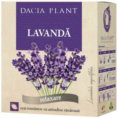 Ceai de lavanda (relaxant) 50g Dacia Plant