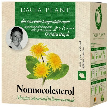 Ceai normocolesterol 50g Dacia Plant