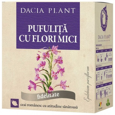 Ceai de pufulita cu flori mici 50g Dacia Plant