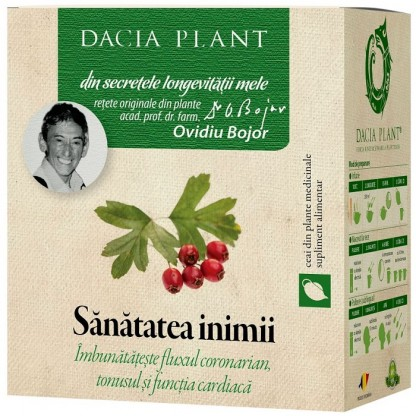 Ceai pt sanatatea inimii 50g Dacia Plant