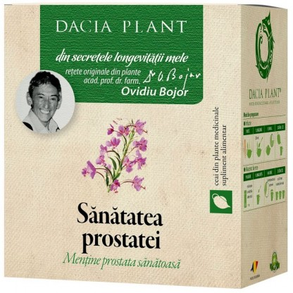 Ceai pt sanatatea prostatei 50g Dacia Plant