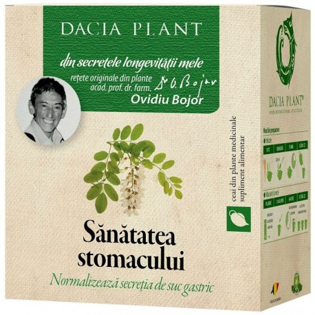 Ceai pt sanatatea stomacului 50g Dacia Plant