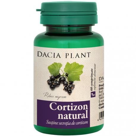 Cortizon Natural (sustine secretia de cortizon) 60 comprimate Dacia Plant