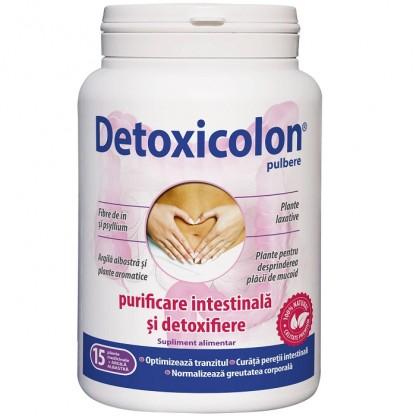 Detoxicolon (Purificare intestinala si detoxifiere) pulbere 450g Dacia Plant