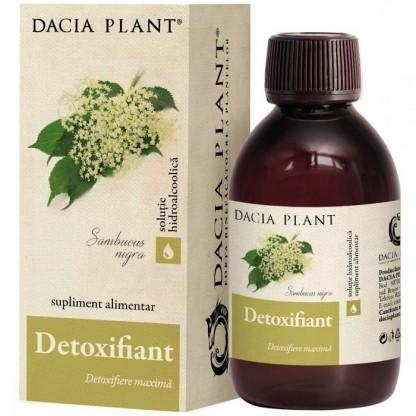 Detoxifiant tinctura (detoxifiere maxima) 200ml Dacia Plant