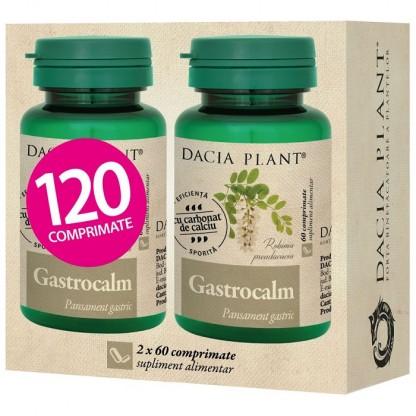 Pachet Gastrocalm (pansament gastric) 60 comprimate 1+1 cadou Dacia Plant