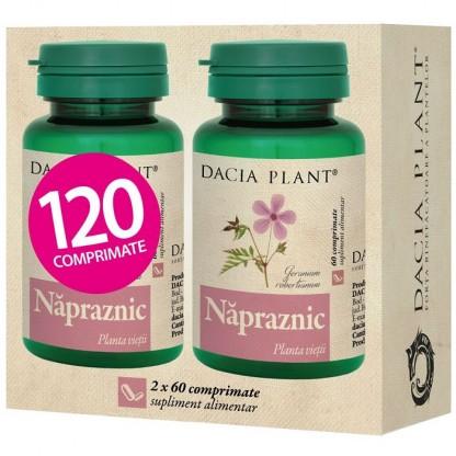Pachet Napraznic (planta vietii) 60 comprimate 1+1 Cadou Dacia Plant