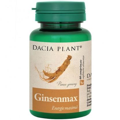 Ginsenmax (energie maxima) 60 comprimate Dacia Plant