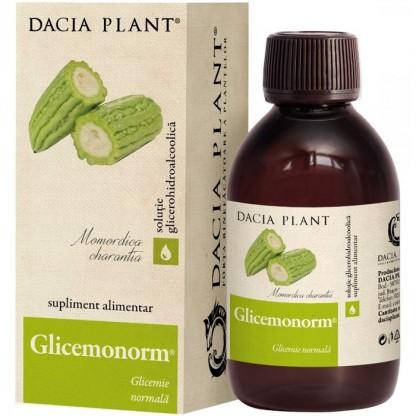 Glicemonorm (glicemie normala) tinctura 200ml Dacia Plant